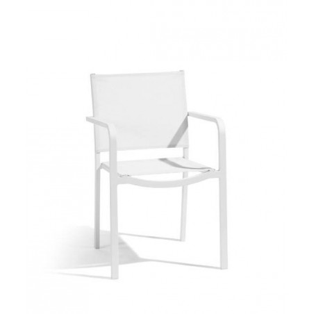 Square outdoor chair Helios by Manutti