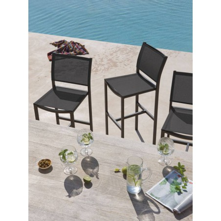 Outdoor barstool Helios by Manutti