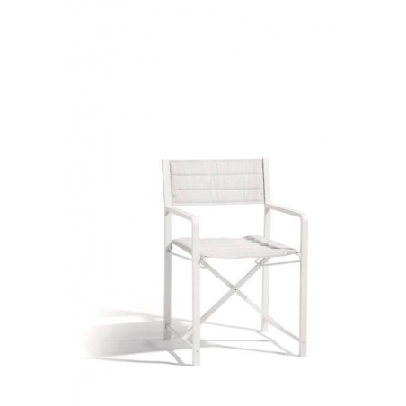 Outdoor chair Cross Alu by Manutti