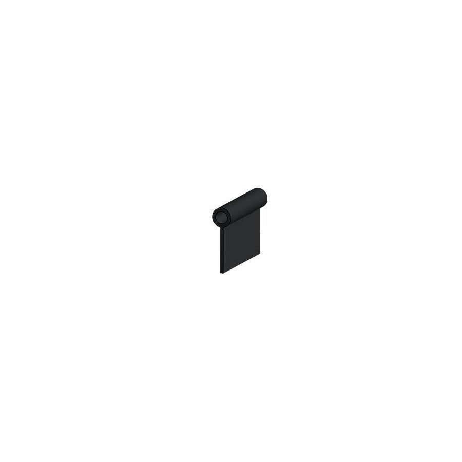 Piping fabric 100% PVC Diameter 4mm color black