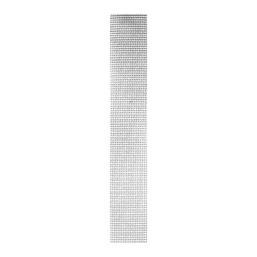 Sangle polyester forte blanche largeur 40 mm