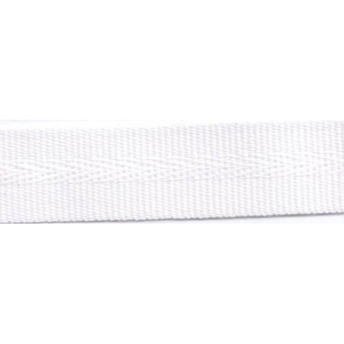 Acrylic galon mass tinted 22mm wide color white