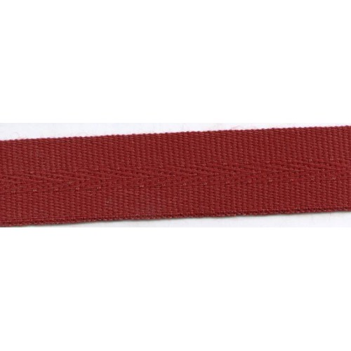 Acrylic galon mass tinted 22mm wide color burgundy