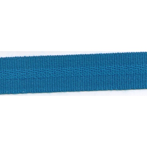 Acrylic galon mass tinted 22mm wide color blue