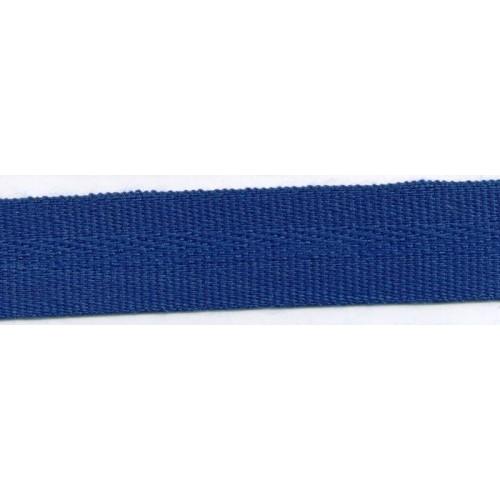 Galon acrylique teinté masse largeur 22 mm coloris bleu marine