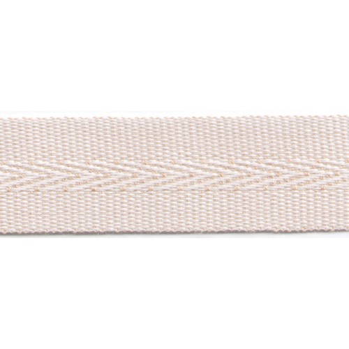 Acrylic galon mass tinted 22mm wide color linen