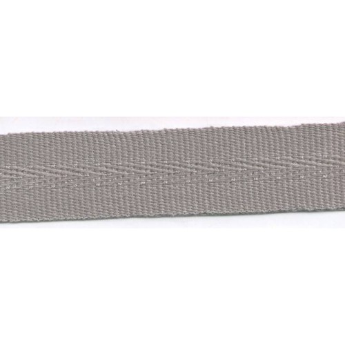 Acrylic galon mass tinted 22mm wide color grey
