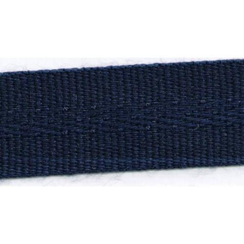 Galon acrylique teinté masse largeur 22 mm coloris navy