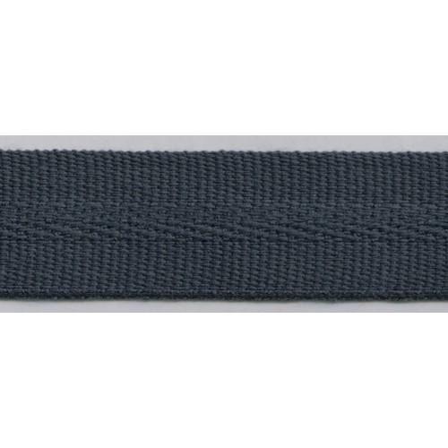 Galon acrylique teinté masse largeur 22 mm coloris anthracite