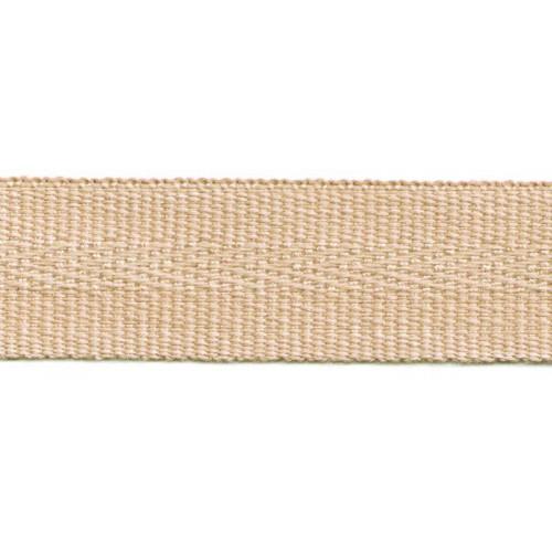 Galon acrylique teinté masse largeur 22 mm coloris sable