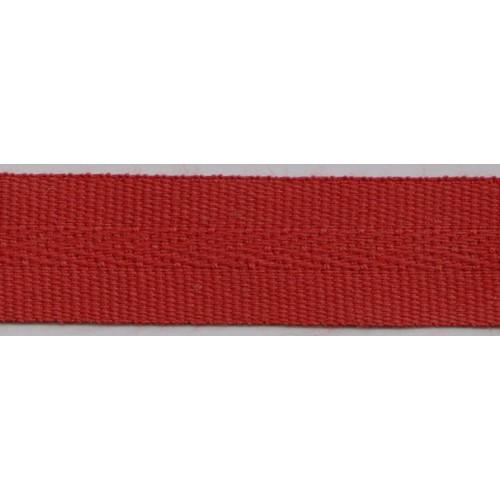 Galon acrylique teinté masse largeur 22 mm coloris rouge foncé