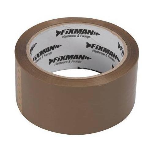 Brown packaging tape roll of 66 ml