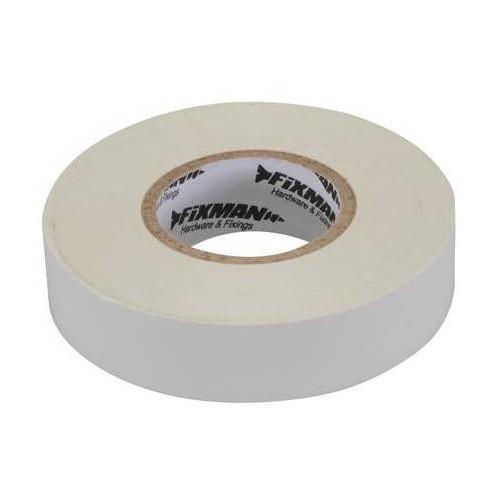 Ruban adhésif pour isolation électrique - Blanc 25 mm