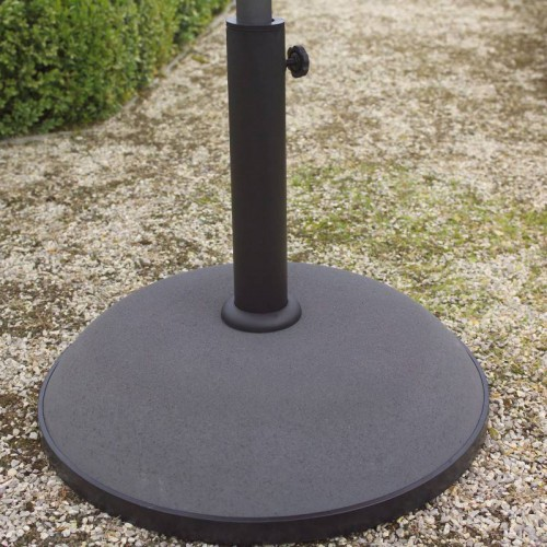 Orlando umbrella base Jardinico for pole 35 mm 38 mm 40 mm - Grey concrete