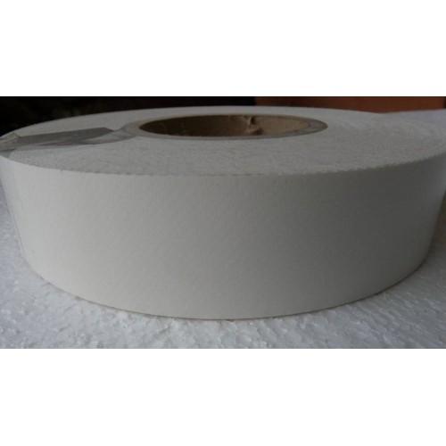 Bande de renfort PVC prédécoupée blanche au mètre