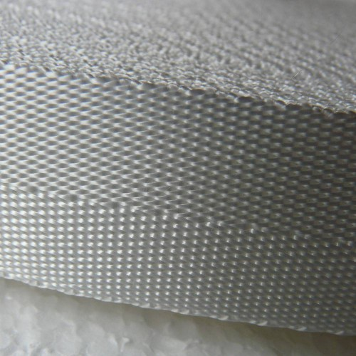 Sangle polyester souple blanche largeur 25 mm