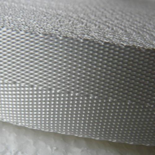 Sangle polyester souple blanche largeur 25 mm