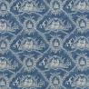 Crespières farbic - Pierre Frey - Old blue