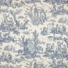 Coutances Positif furniture farbic - Pierre Frey - Blue