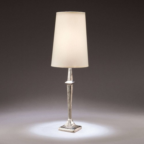Bronze table lamp Adam - Bronze nickel
