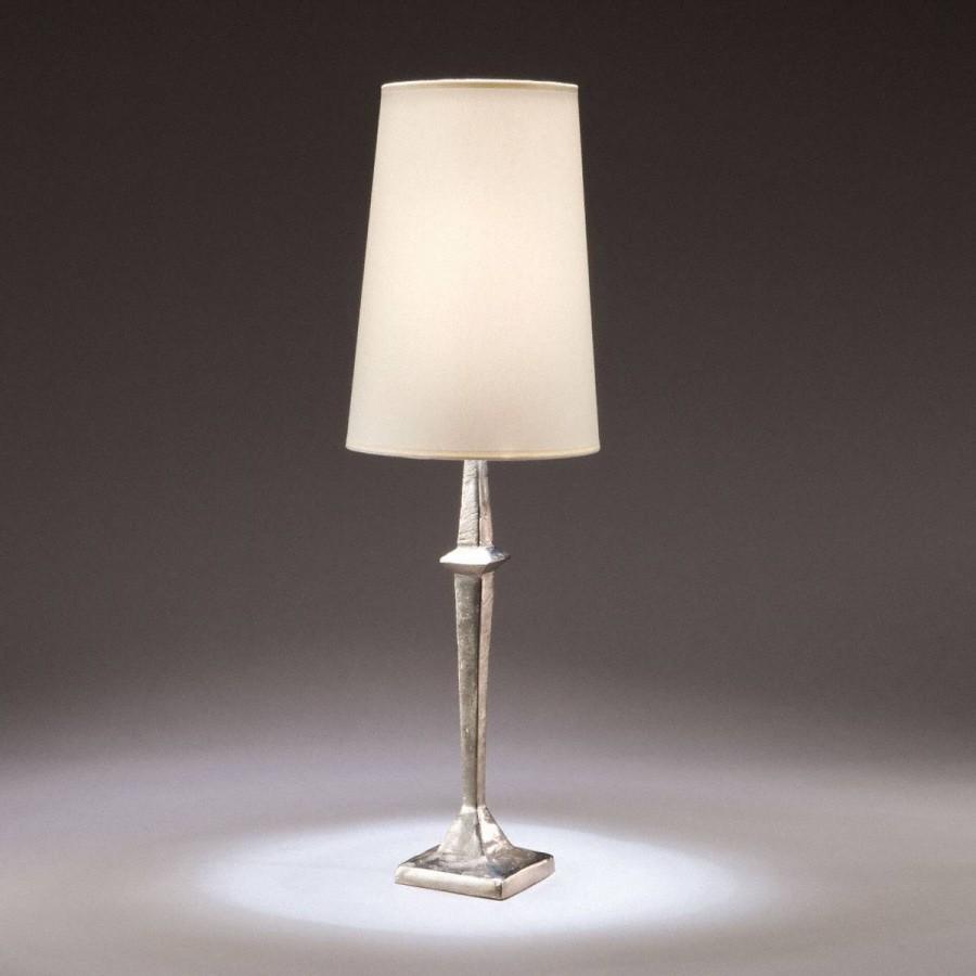 Bronze table lamp Adam - Bronze nickel
