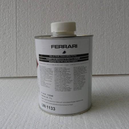 Glue for welding the flexible PVC tarpaulins Serge Ferrari