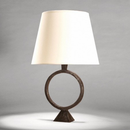 Bronze table lamp Sonia - Brown bronze