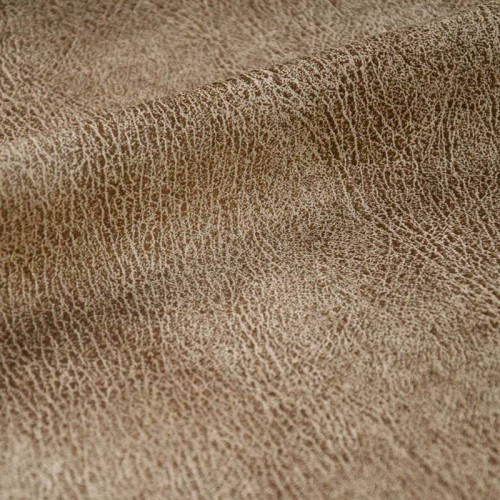 Simili-cuir d'ameublement aspect vieilli Shake Casal - Tabac