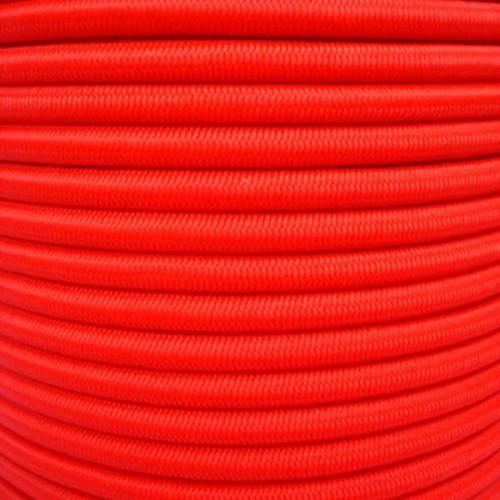 Sandow polyester haute ténacité coloris rouge