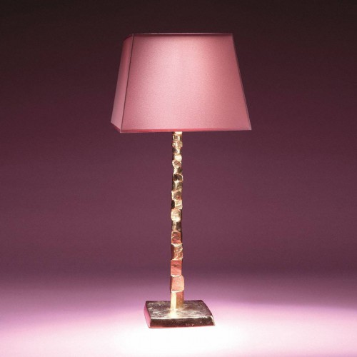 Bronze table lamp FRAGILE - Bronze gold