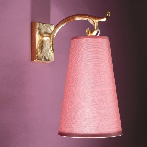 Bronze wall lamp FARO - Bronze gold