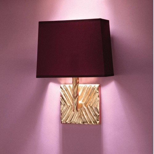 Bronze wall lamp TOGO - Bronze gold