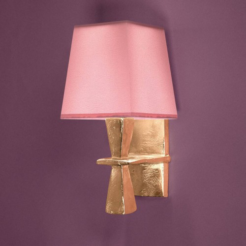 Bronze wall lamp EVE - Bronze gold