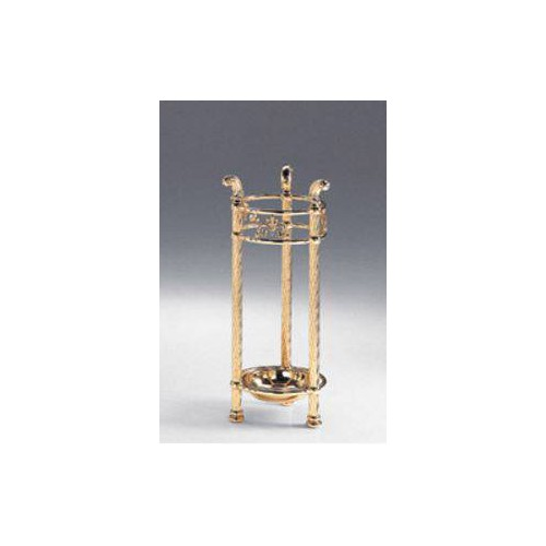 Umbrella stand brass Napoli - Bright brass