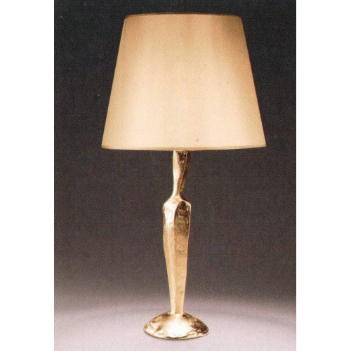 Bronze table lamp JUDE - Bronze gold