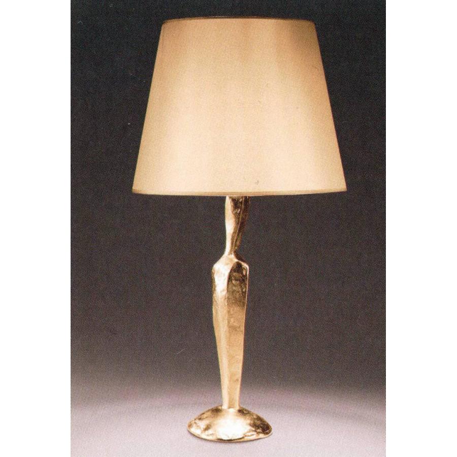 Bronze table lamp JUDE - Bronze gold
