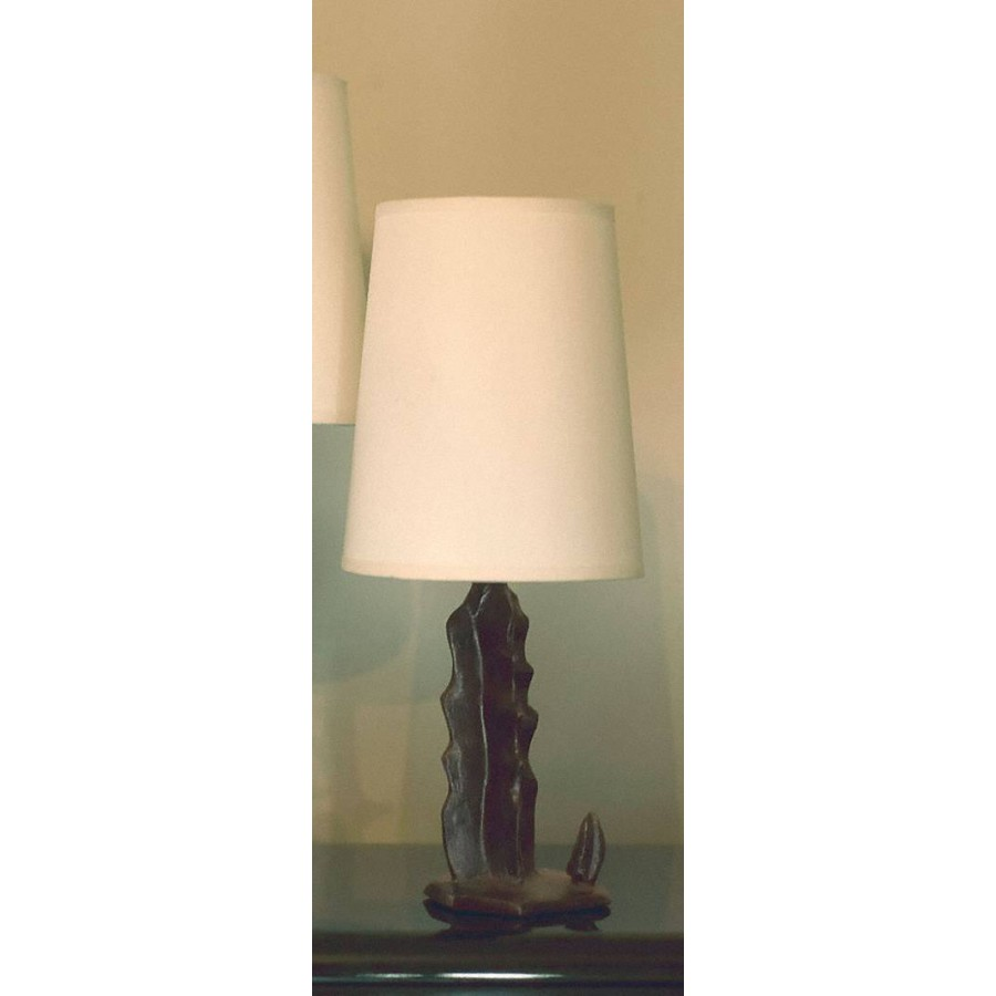 Bronze table lamp ACOMA - Brown bronze