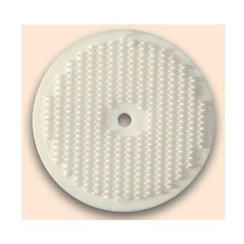 Disque auto-agrippant crochet blanc diamètre 45 mm YKK