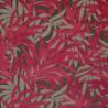 Velvet fabric Jungle Casal - Grenat 12707-75