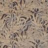 Velvet fabric Jungle Casal - Noisette 12707-50