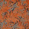 Velvet fabric Jungle Casal - Terre cuite 12707-25