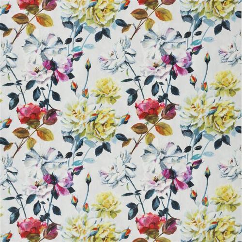 Tissu Eglantine Satine Designers Guild coloris Fuschia