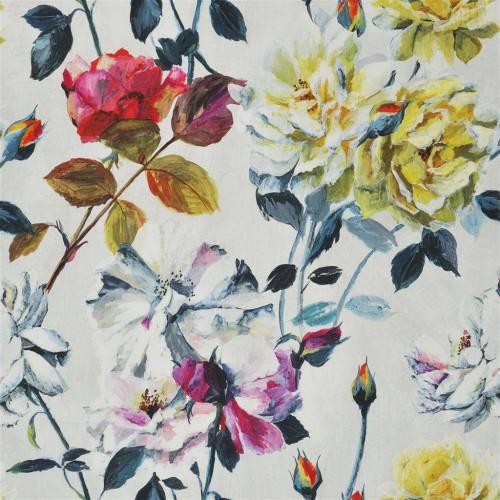 Tissu Couture Rose coloris Fuchsia FDG2470-01 - Designers Guild