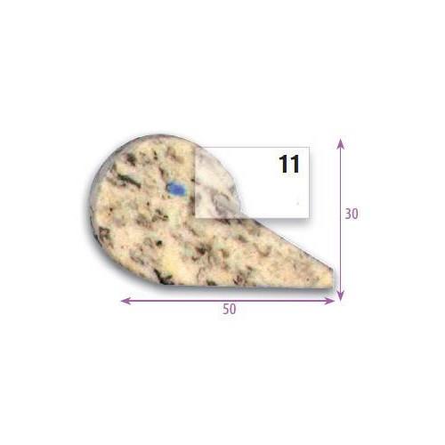Bourrelet profilé mousse pour assise et dossier type PR11