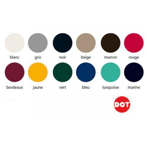 Calottes couleurs pour fixations et pressions DOT ®