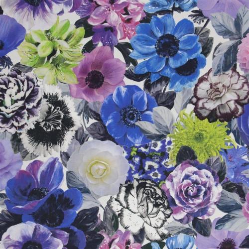 Tissu lin Oriana coloris Crocus F1957-01 - Designers Guild