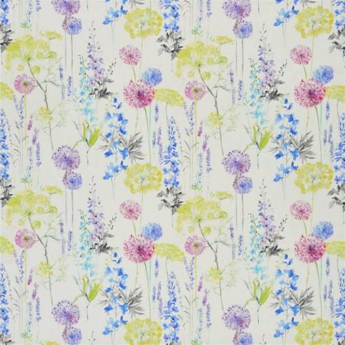 Tissu Fleur Sauvage coloris Delphinium FDG2475-01- Designers Guild