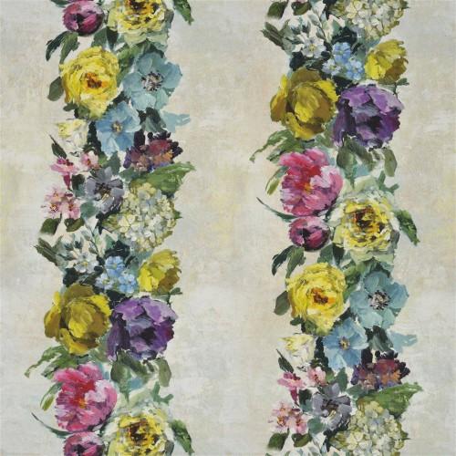 Tissu Ghirlanda coloris Ecru FDG2353-02 - Designers Guild