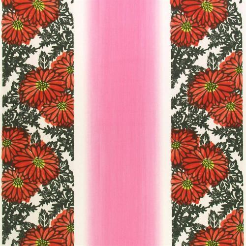 Tissu Ikebana coloris Poppy F1379-03 - Designers Guild