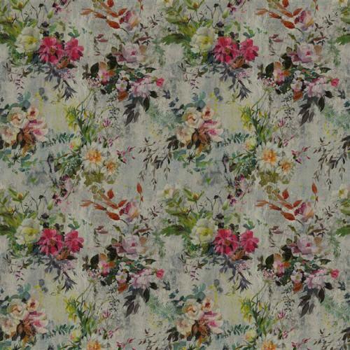 Tissu Aubriet Lino Coloris Damson FDG2560-01 - Designers Guild